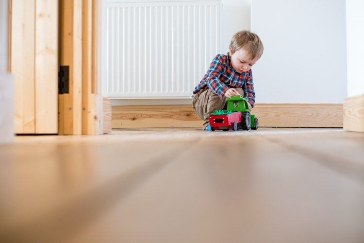 Aberdeenshire Family Photographer Debbie Dee Photography In-Home Lifestyle Photography - child playing with toy car