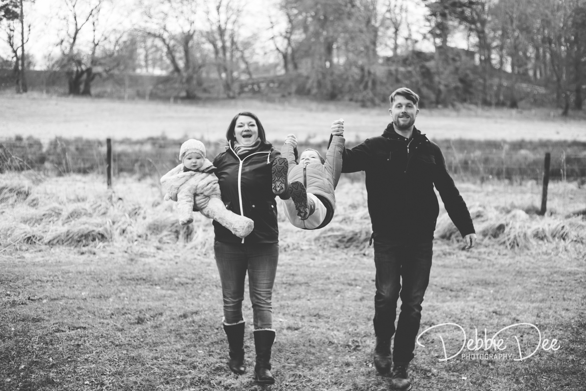 Family Photography Aberdeenshire - Leith Hall Aberdeenshire - Debbie Dee Photography - Outdoor Family Photography Session - family swinging child