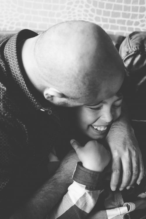 Family Photographer Aberdeenshire - Family photography aberdeenshire - Debbie Dee Photography - In-home Lifestyle Family - dad cuddling boy