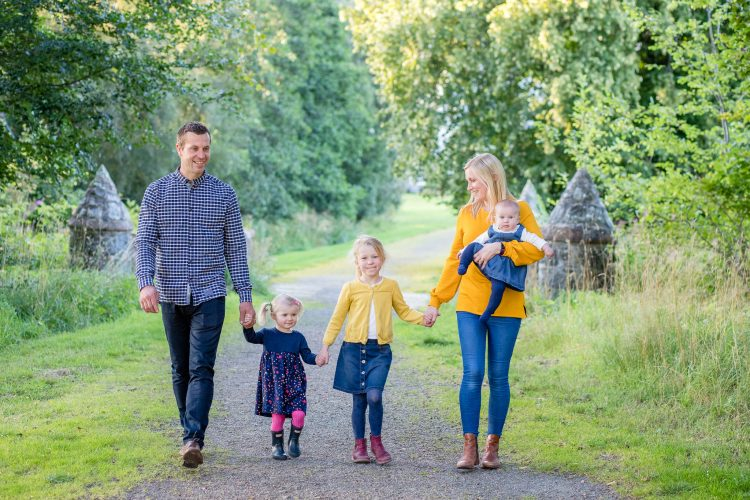 Family Photographer Aberdeenshire - Family photography aberdeenshire - Debbie Dee Photography - Lifestyle Family - Family at Leith Hall Huntly