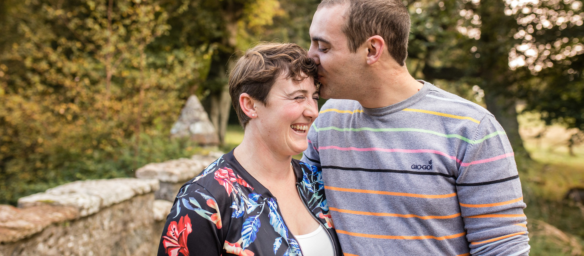 Engagement couple - wedding photographer aberdeen - scottish weddings - debbie dee photography
