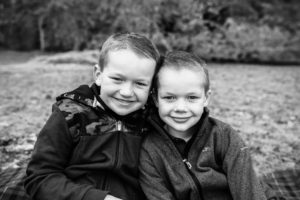 Brother smiling to camera - family photographer aberdeen aberdeenshire - leith hall - debbie dee photography
